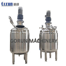 Tanque de mezcla de acero inoxidable Tanque de mezcla líquido de calefacción eléctrica