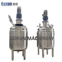 Tanque de mistura de aquecimento de aço inoxidável Tanque de mistura de aquecimento de aço inoxidável
