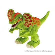 Decoração do festival fábrica chinesa impressa de desenhos animados de plástico do brinquedo do dragão de vinil