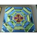 Künstlerische Kristallglas-Fliese (JD-MSP-7001)