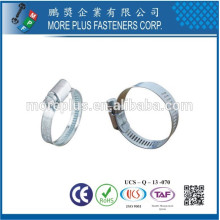 Made in Taiwan STainless Steel Schlauchklemmen German Style Pipe Hose Clamp