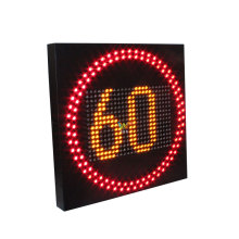 radar flashing speed limit traffic safety road signs