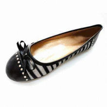 Comfortable Women's Dress Shoes with PU Upper, Available in Various Upper Designs