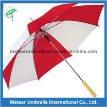 OEM Дешевые поощрения подарок Stick Автоматическая деревянная ручка Umbrella