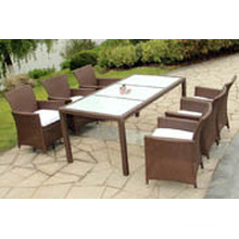 Luxury Durable Easy Cleaning cheap dining table and 6 chairs