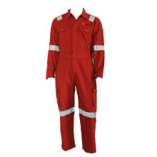 Red High Performance Flard Retardant Coverall Work Clothing