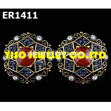 designer stud rhinestone earrings
