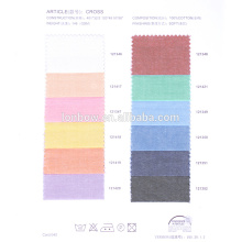 Promotional italian cotton shirting fabric