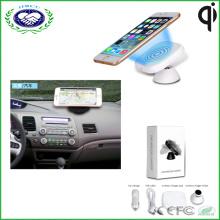 Новый беспроводной зарядное устройство автомобиля Магнит Qi беспроводной телефон зарядное устройство, используемое в автомобиле