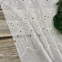 Ткань с вышивкой из 100% хлопка