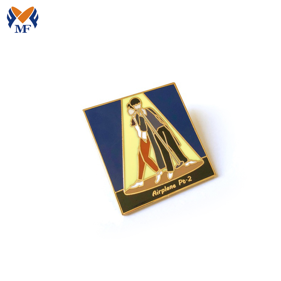 Metal Pin Badge With Your Design