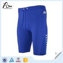Atacado Mens Athletic Spandex Shorts Running Desgaste de Corrida