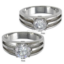 Gets.com Edelstahl Vergoldung Engagement Paar Ring