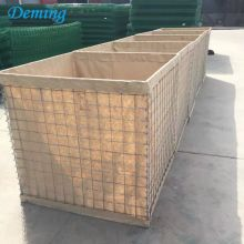 Pelatihan Militer Hesco Defensive Barrier Sand Wall
