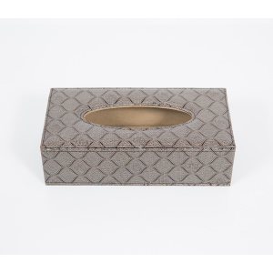 Quality leather paper extraction tissue box