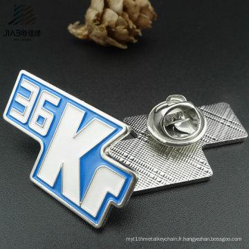Insigne nominatif en métal de Pin d'émail de voiture de cadeau fait sur commande de promotion