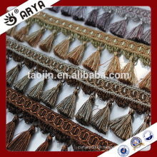 stock goods small tassel fringe for curtain deco and lamp decoration