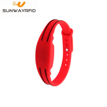 Waterproof Programmable Chip Silicone RFID Wristbands