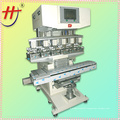 HJ-300FY precision ink cup 6 color helmet pad print machine
