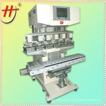 HJ-300FY precisão tinta copo 6 cor capacete pad máquina de impressão