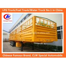 Reboque de 3 eixos com 40 pés de parede lateral / parede lateral / reboque de carga