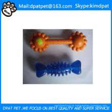 Venda quente Produtos para Animais de Estimação Não Tóxico Osso De Borracha Brinquedo Do Animal de Estimação