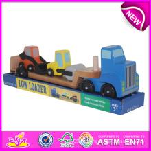 DIY Holz Loader Spielzeug für Kinder, bunte Holzspielzeug Loader Spielzeug für Kinder, Mini Holz Auto Spielzeug Loader Spielzeug für Baby W04A064