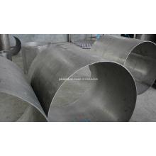 Alta calidad ASTM B338 Gr12 aleación de tubo de titanio