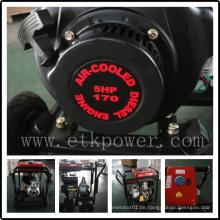 """2 """"Portable Diesel Wasserpumpe mit Etk170f Motor"""