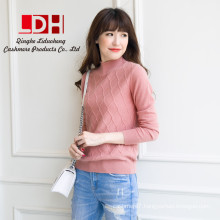 2017 New Winter Fashion top Quality Goat Cashmere Pullover round neck Knitwear lady sweater