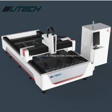 Preço da máquina de corte do laser da fibra da chapa metálica