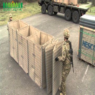 Hesco Barrier Price Military Gabion รอยเชื่อม