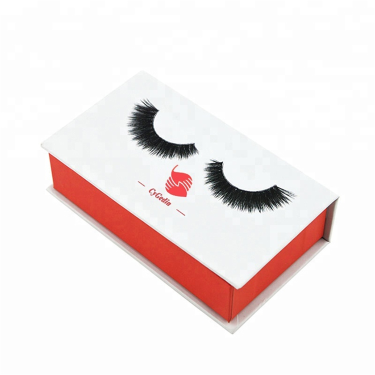 Cheap Magnetic Closure Lash Packaging Cardboard Boxes