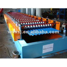 Máquina formadora de rollos de aluminio corrugado panel