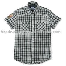 As camisas dos homens do algodão da forma
