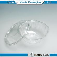 Contenedor de ensalada de frutas de plástico personalizado de precio de fábrica