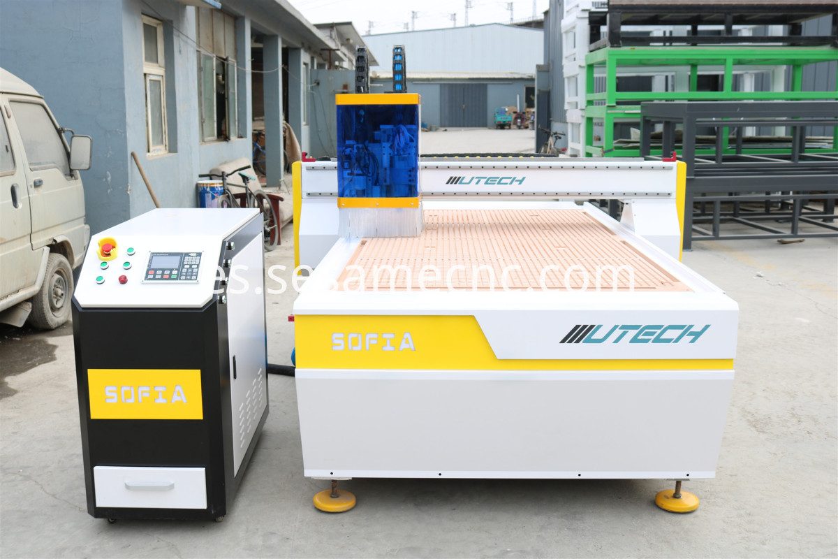 oscillating knife cnc cutting machine for leather
