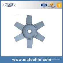 Custom Make Precision Die Casting Alumínio Cooling Fan Blade