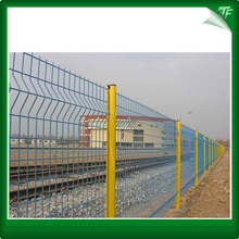 Yellow peach shaped welded steel mesh