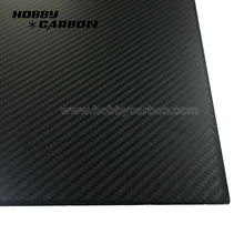 Full 3K Twill Matt Carbon Fiber Plates