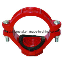 Ductile Iron 300psi NPT Threaded Mechanical Tee