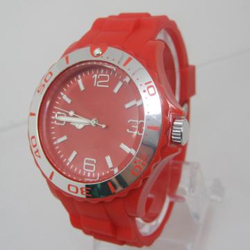 New Environmental Protection Japan Movement Plastic Fashion Watch Sj073-9