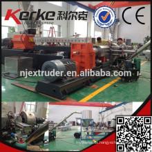Kunststoff-Doppelstufen-Extruder für PVC-Granulate