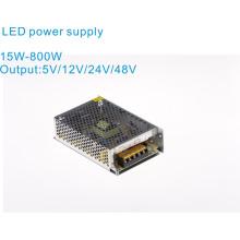 Alimentation LED 15W-800W 5V / 12V / 24V / 48V, alimentation industrielle, alimentation de commutation