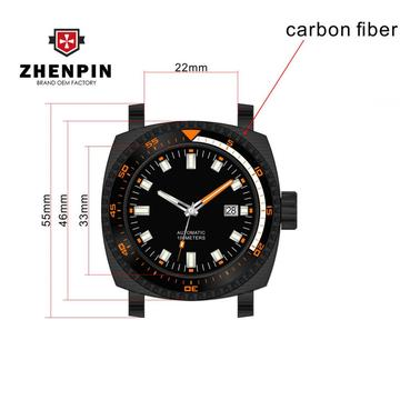 2018 New Carbon fiber Watch penuh