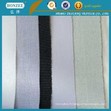Usine d'approvisionnement Plain Weave Woven Interlining