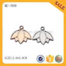 MC509 Top-Qualität Spezial-Bekleidung Metall-Zip-Puller, maßgeschneiderte Logo Reißverschluss Abzieher