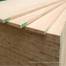 Panneau de blocs de qualité supérieure / moyenne / inférieure avec placage en bois naturel