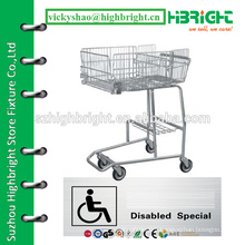 handicapped shopping trolley cart