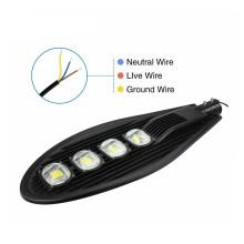 High Lumen 200w LED Street Light Fixtures